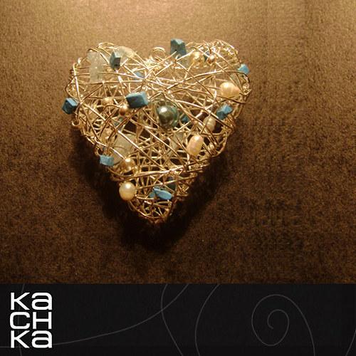 Veľké modravé srdce