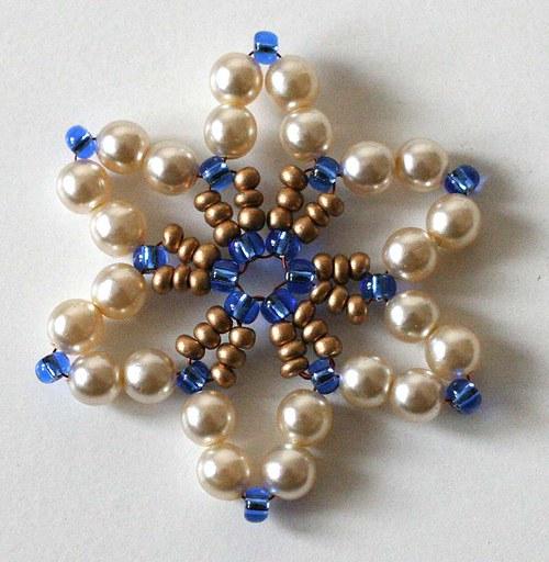 hvězdička modrá