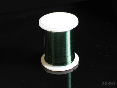 20397-B17 Bižuterní drát 0.3mm TM.ZELENÝ, cív. 10m