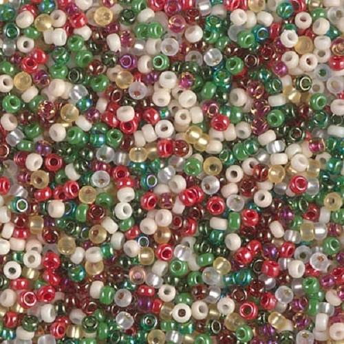 Miyuki Seed Beads 11/0 -  Old Fashioned Christmas