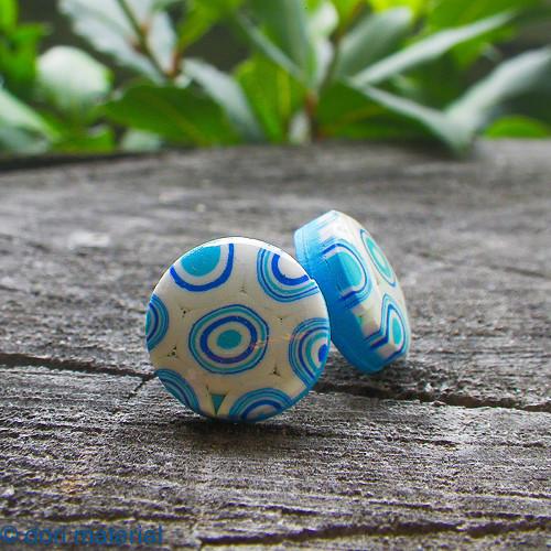 miniklimt modro-biely