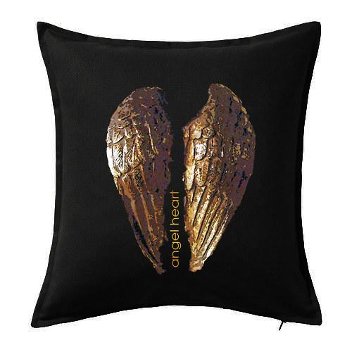 Dekorační polštář ,,Angel heart,,