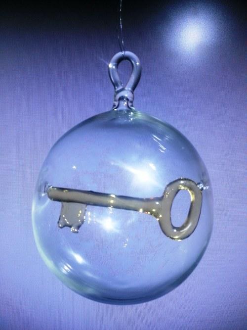 koule s motivem - klíček