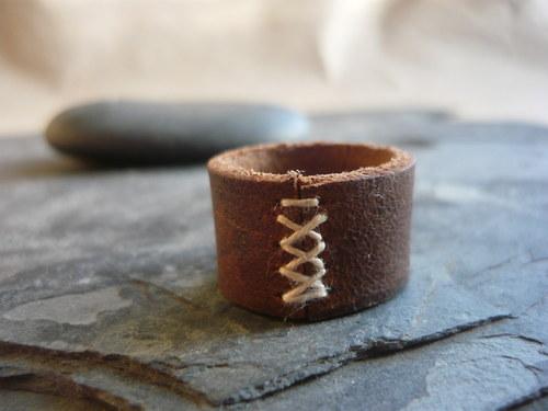 Kožený prsten II. - sleva z 77,-
