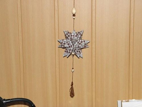 Kusudama hvězda -  závěs