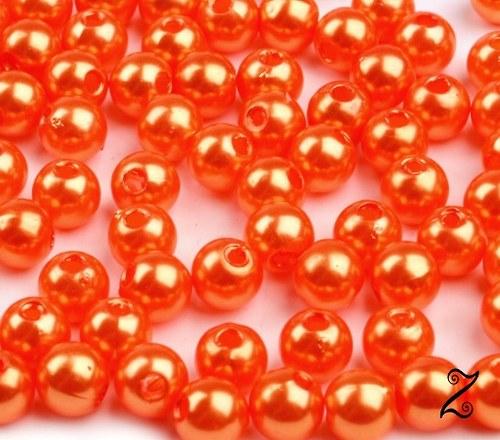 Voskovky, oranžová, 6 mm (100ks)