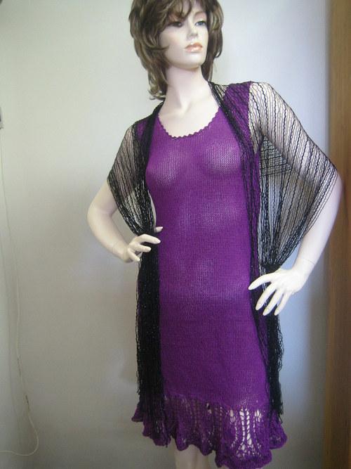 letní šaty  violet