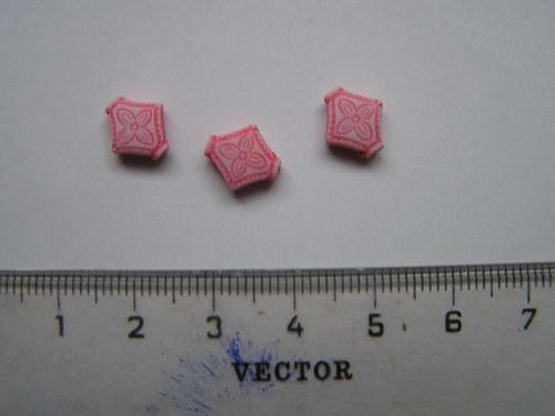 Korálky - čtyřúhelník