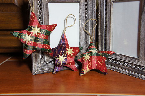 vánoční hvězdičky...