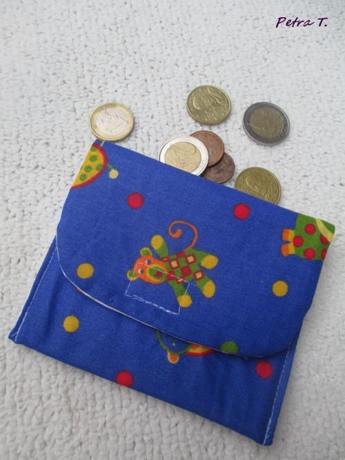 Dětská peněženka - kapsička