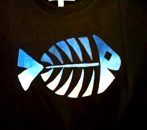 Triko s rybí kostrou M-L