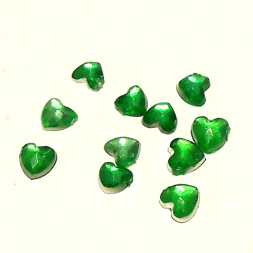 Zirkony - tvar srdce