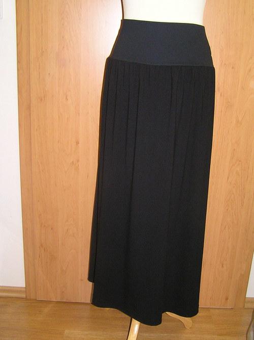 Sukně s pružným pasem
