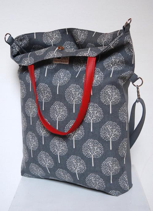 Tote bag  -  Ta s červeným uchem