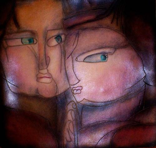 Kožený obraz - Tajemství