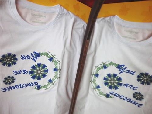 triko povzbuzující /bílé XL