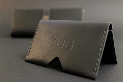 PUB - Malé kožené pouzdro na karty