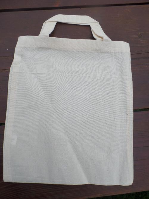 Plátěná taška se dvěma uchy - natur