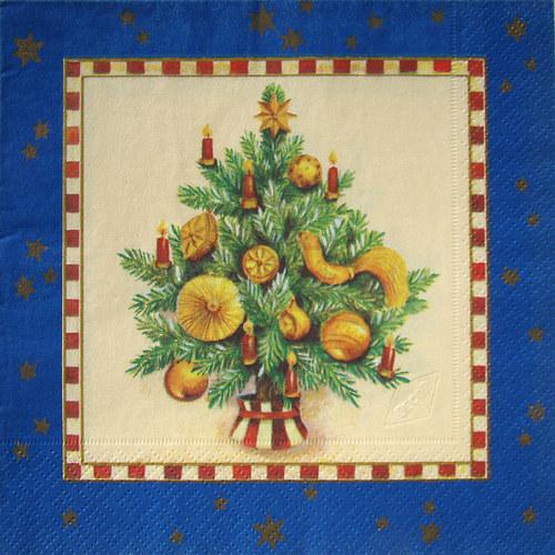 """Ubrousek \""""Vánoční strom\"""""""
