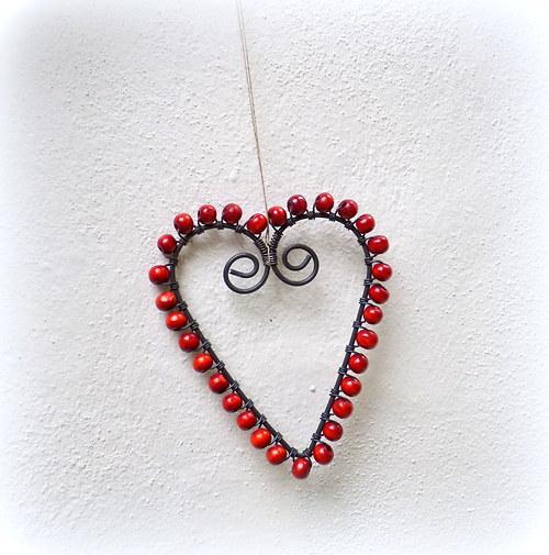 Domov plný lásky .... v červené:)