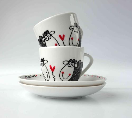 espresso hrníček - ovečky