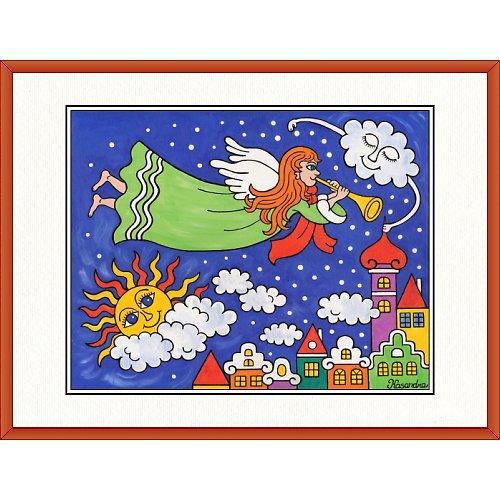 Anděl Petronius přivolává zimu 31,5 x 41,5cm
