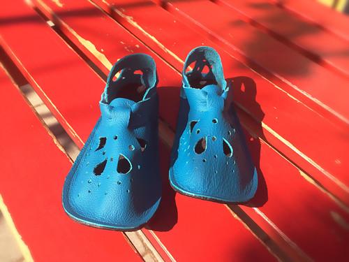 Kožené Sandálky ŤapŤapky