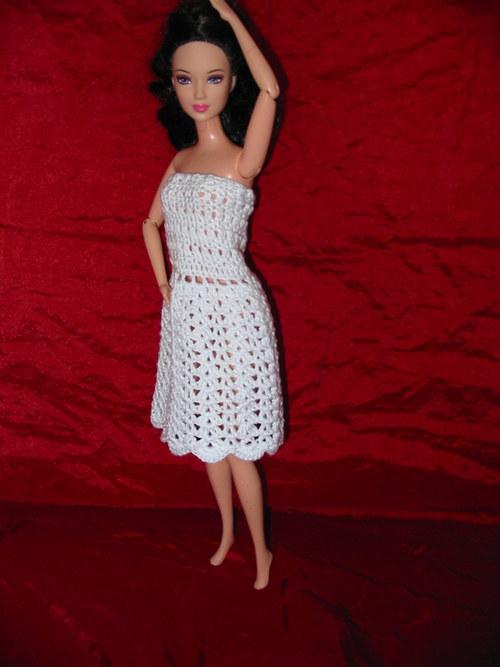 Bílé šaty - SLEVA - VÝPRODEJ