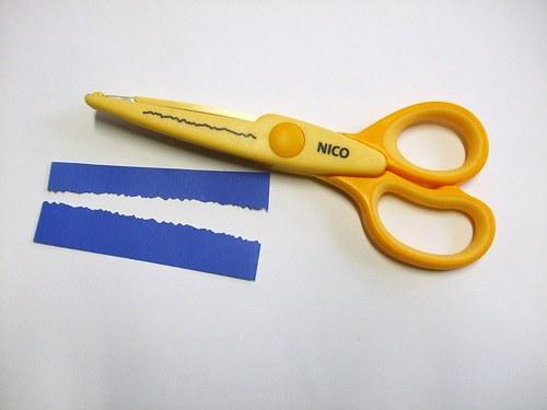 Okrasná nůžky Nico
