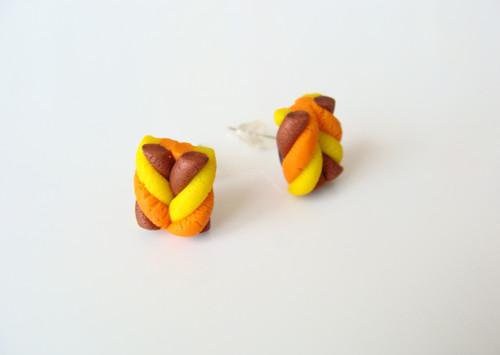 Pecky oranžové