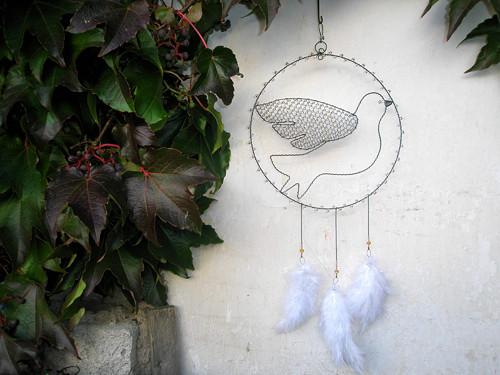 Holubička-lapač snů