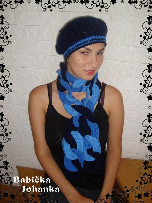 Baret modrý 2
