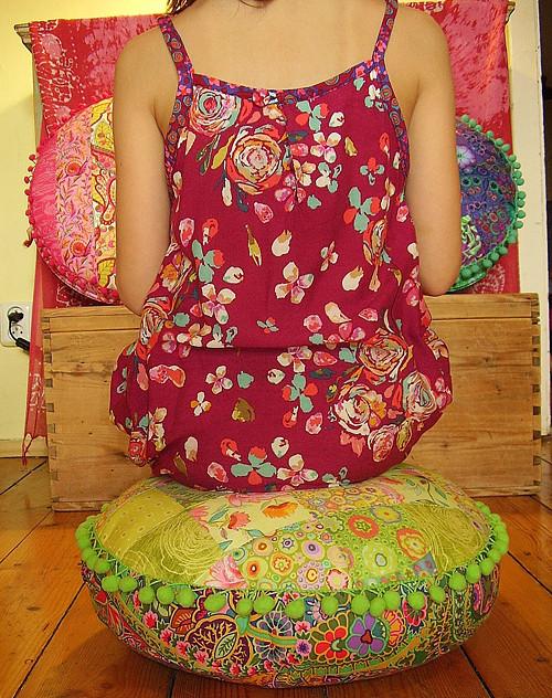 Sedák Růže (průměr 40 cm)SLEVA
