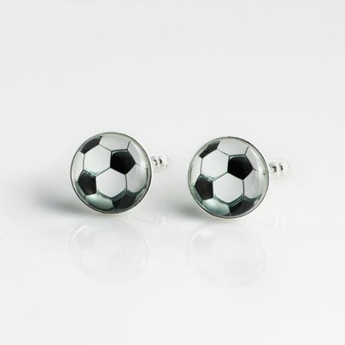 """Manžetové knoflíčky \""""Fotbalový míč\"""""""
