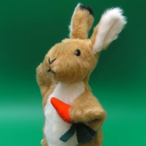 Zajíček - autorská hračka