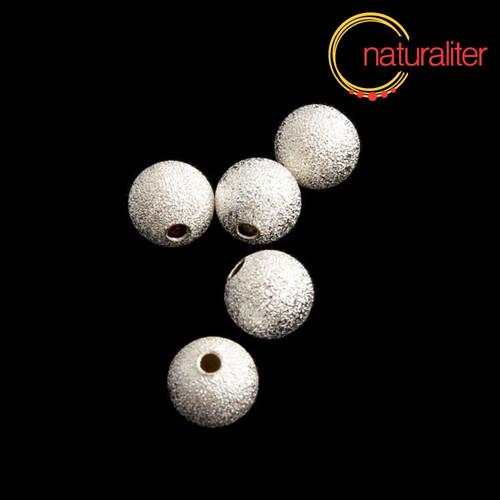 Kovový korálek 8mm - hvězdný prach 5ks