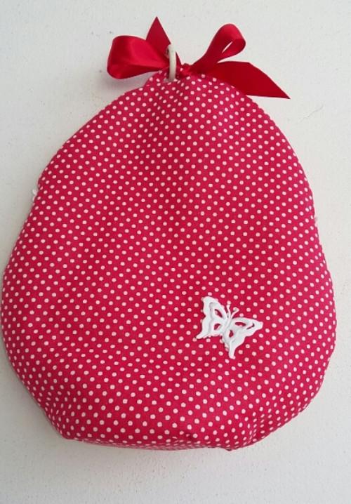 Taštička na koledu nebo dekorace ve tvaru vejce