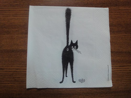 Ubrousek na decoupage - cat 1