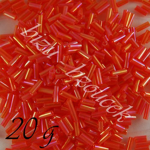 Oranžové trubičky 6mm