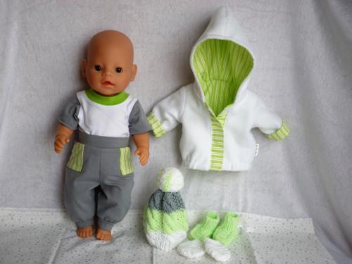 Komplet na Baby Born - kluk i holka