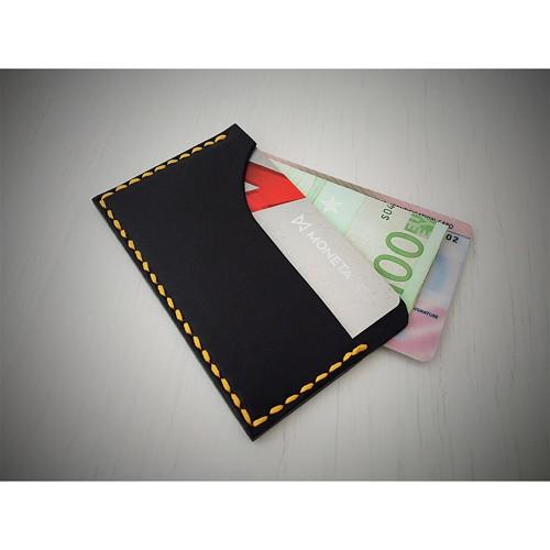 Kožené pouzdro na kreditní karty
