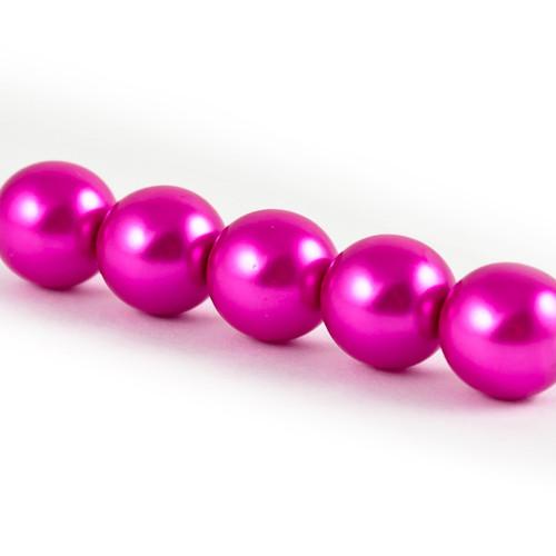 Voskové perle - růžová
