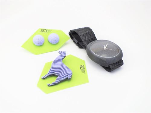 Sada hodinky, bobule a lama lilac