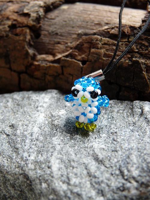 Tučňák - modrý