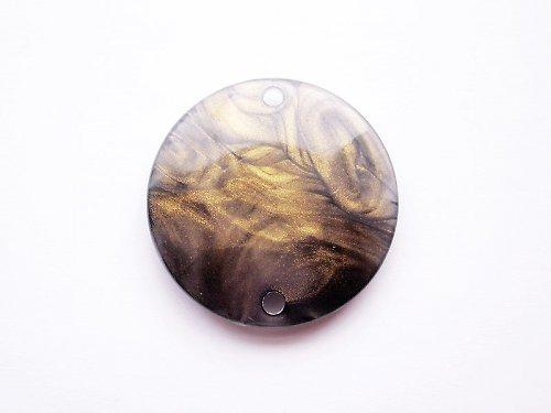 Zlatošedé kolečko malé ((KOM130))