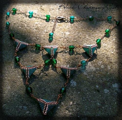 """náhrdelník \""""Nefertiti\"""""""