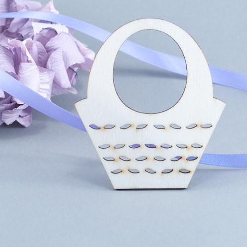 Košíček s lístečky