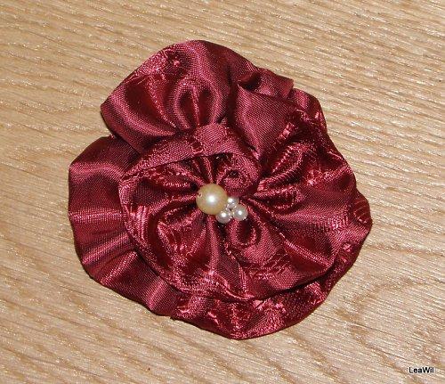 Bordo růže perličky