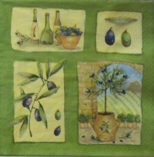 Zátiší s olivami