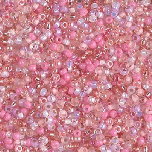 MIX Miyuki Seed Beads 11/0 - Pretty in Pink, 10g